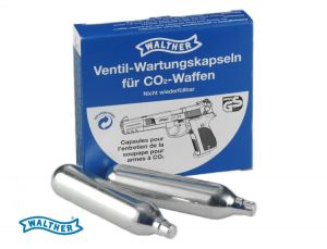 Cleaning compressed air CO2 Walther