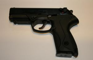 Blank pistol Bruni mod. P4 - 9mm