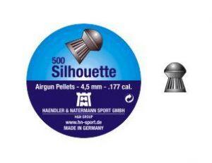 Air gun pellets H & N Silhouette 4.5 mm.