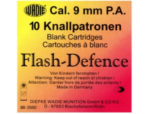 Blank cartridges Flash-Defence 9mm PA