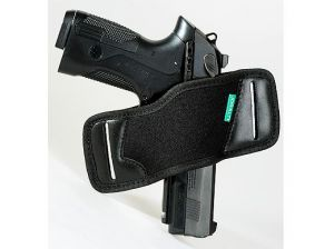 TEXTILE HOLSTER CUTTING WITHOUT STRAPS