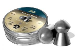 Air gun pellets H & N Baracuda Match 4.5 mm.