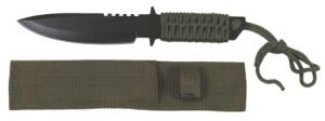 Knife with fixed blade