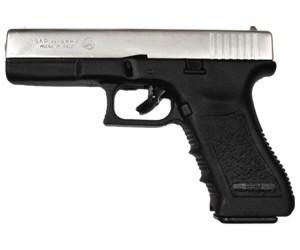 Blank pistol Bruni Gap 17 nickel