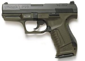 BLANK PISTOL WALTHER P 99 MILITARY